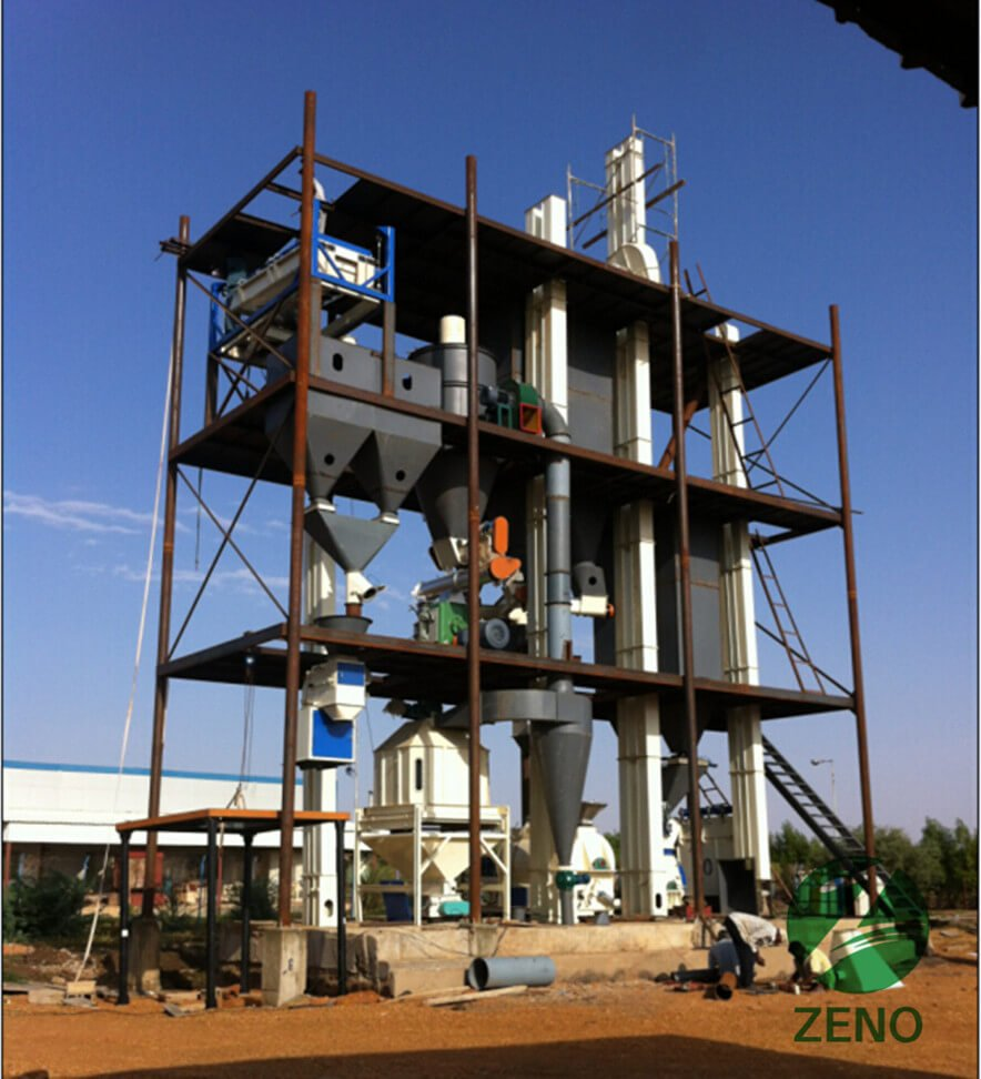 5 ton cattle feed plant in Peru