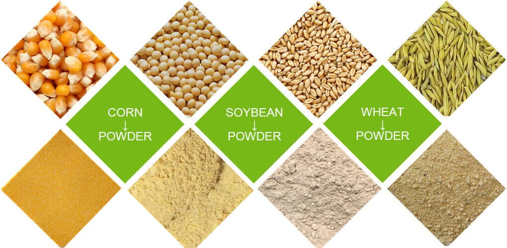feed pellet raw materials