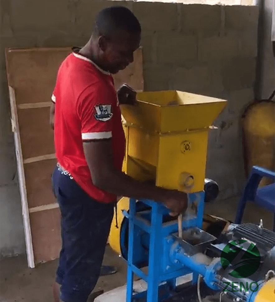 fish feed pellet machine in Nigeria