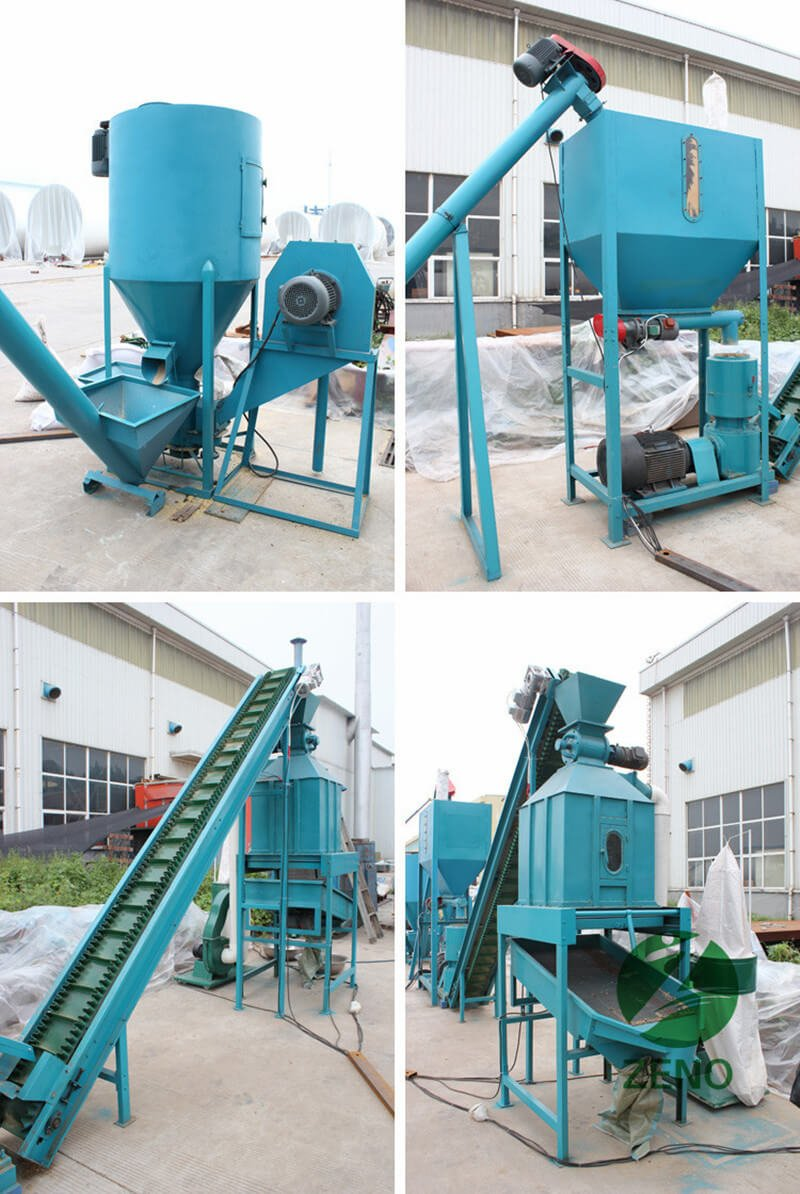cattle feed pellet mill plant