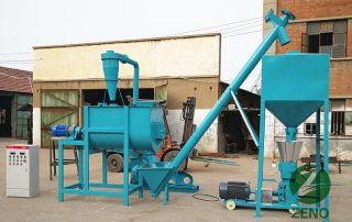 cattle feed production line