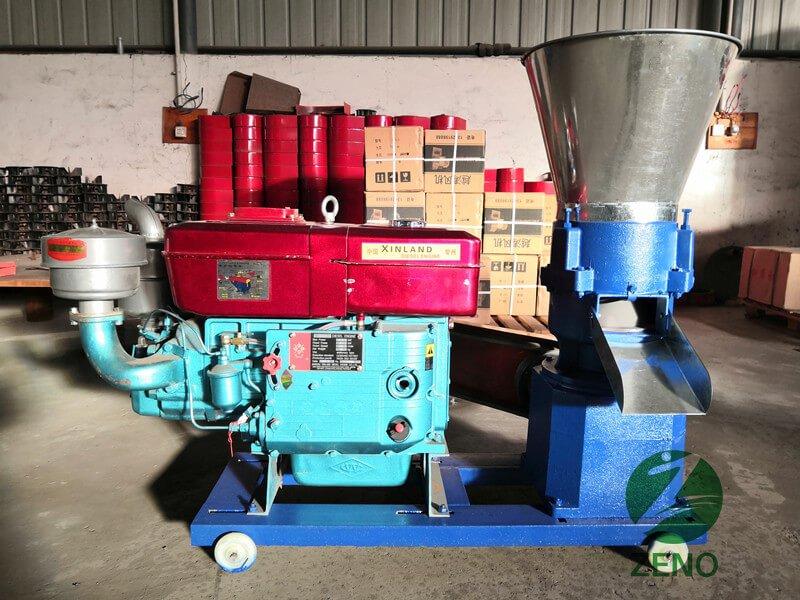 diesel alfalfa pellet mill