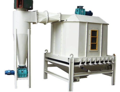 Pellet Cooler Machine 1-2tons/h