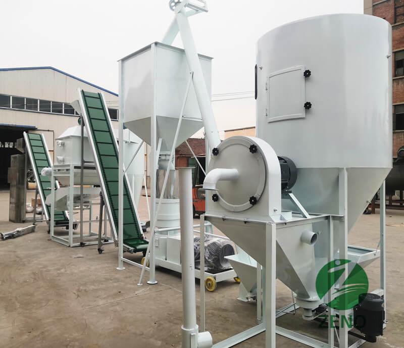feed pellet mill plant