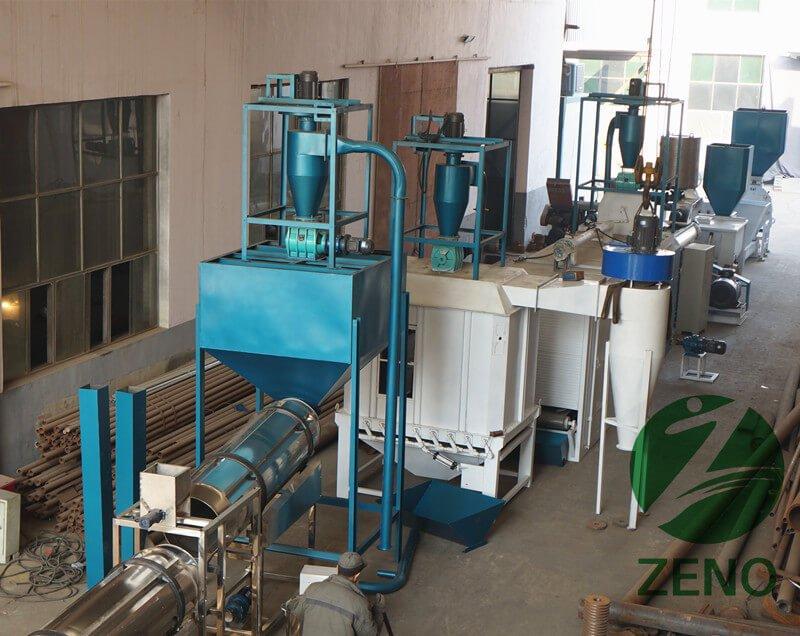 fish feed mill plant