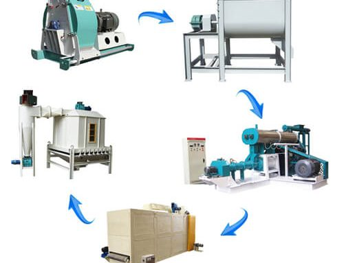 Fish Feed Production Line 2-3tons/h