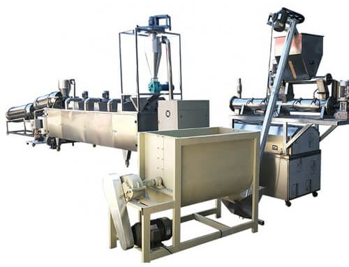 Pet Food Production Line 1-2ton/h