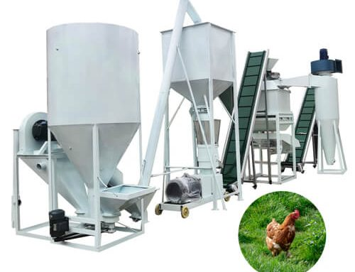 Feed Production Line 1-2tons/h