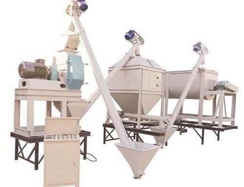 Premix Feed Plant   1-2ton/h