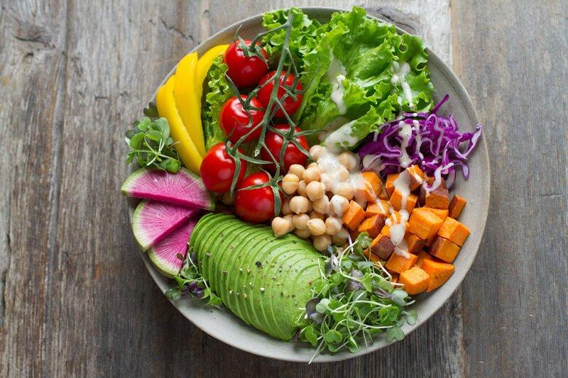 vegetable in dog formulation