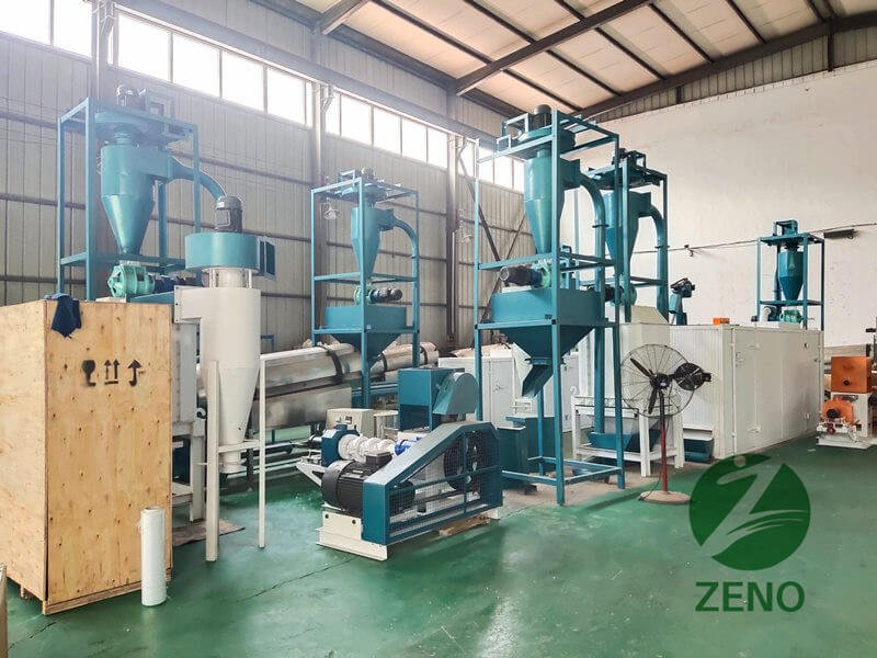 Zeno pellet machine package