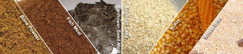 pig feed ingredients