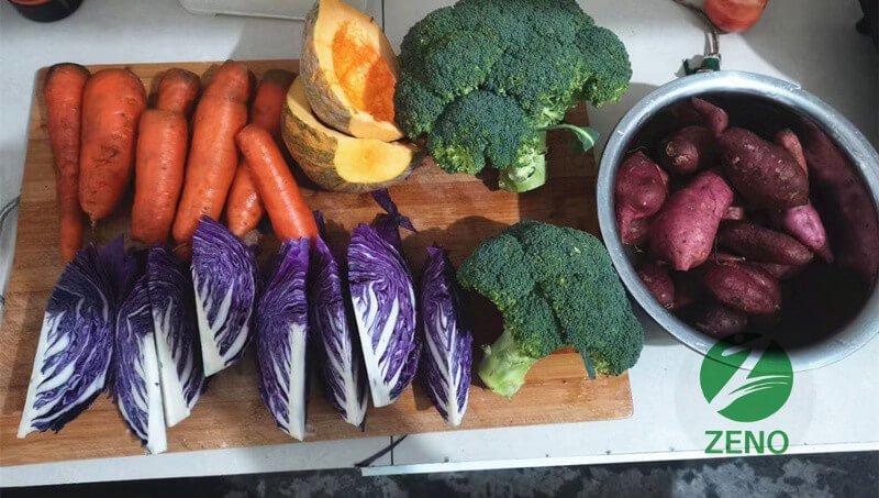 vegetable for dog food